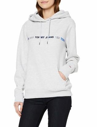 Tommy Jeans Women's TJW Linear Logo Hoodie Cardigan