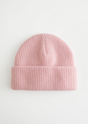 And other stories Knitted Wool Blend Beanie