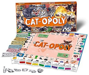 JCPenney Cat-Opoly Board Game