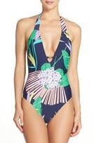 Trina Turk Women's Midnight One-Piece Swimsuit