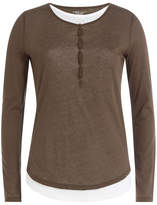 Majestic Cotton Top with Cashmere