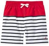 Petit Bateau Boys' striped swim shorts