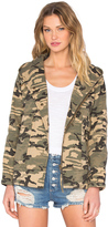 Capulet Hooded Military Jacket