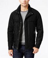 Perry Ellis Men's Oxford Zip-Front Jacket