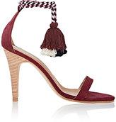 Ulla Johnson Women's Reina Tassel-Tie Sandals-DARK PURPLE