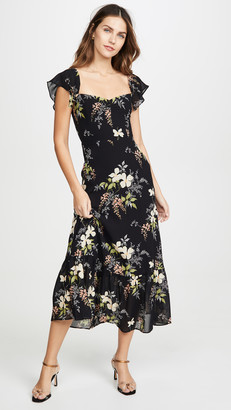 Reformation Butterfly Dress