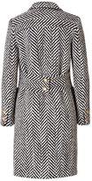 Ungaro Wool Chevron Coat