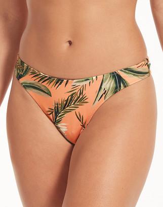 Freya Swim Birds In Paradise Brazilian Bikini Bottom