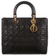 Christian Dior Large Lady Satchel