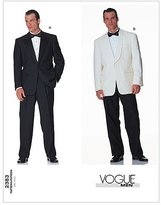 Vogue Patterns V2383 Men's Jacket and Pants