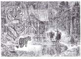 Jane Lee McCracken - Shh It's a Tiger Limited Edition Framed Print