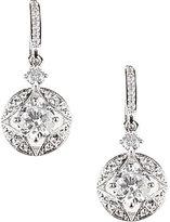 Nadri Stone Link Drop Earrings