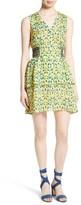 Tanya Taylor Women's Sabrina Leaf Print Silk Dress