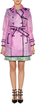 RED Valentino Clear Petunia Raincoat