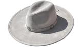 Minx Grey Oversized Hat