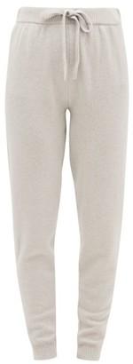 Derek Rose Daphne Cashmere Track Pants - Womens - Light Grey