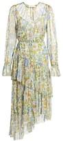 Zimmermann Super 8 Long-Sleeve Tiered Dress