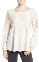 Women's Chelsea28 Button Back Lace Top