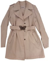 Allegri Beige Cotton Coat for Women