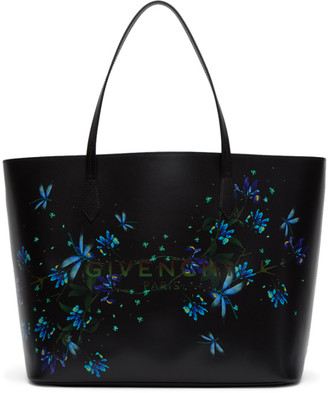 Givenchy Black Floral Ophelia Tote