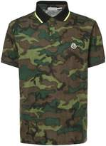 Moncler camouflage polo shirt