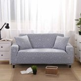LINGJUN Flower Print Stretch Cover Elastic Slipcover Sofa Furniture Protector Couch Cover Arm Chair Home Sofa Decor