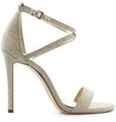 Michael Kors Antonia Gold Glitter Sandal