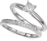 Macy's Diamond Solitaire Bridal Set (1/2 ct. t.w.) In 14k White Gold