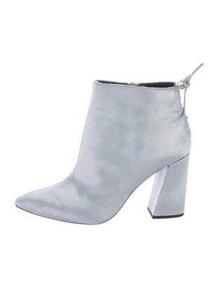 Stuart Weitzman Boots Silver