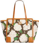 Dooney & Bourke Signature Hydrangea East West Shopper