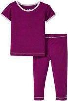 Kickee Pants Pajama Set (Baby) - Melody - 0-3 Months