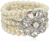 Carolee Grand Entrance Drama Stretch Bracelet