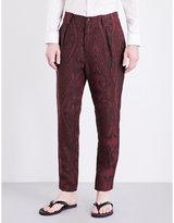 Etro Aztec Linen Trousers
