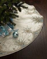Kim Seybert Jewel Tiara Christmas Tree Skirt