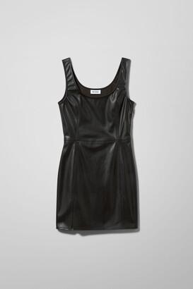 Weekday Neo Dress - Black