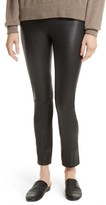 Vince Women's Split Hem Lambskin Leather Leggings