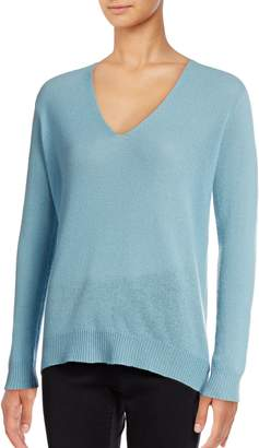 Theory Adrianna V-Neck Cashmere Sweater