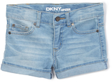 DKNY Light Vintage Cuffed Shorts - Toddler & Girls