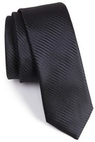 BOSS Subtly Striped Silk Tie