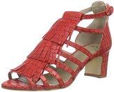 Noe Antwerp Women's NOKI SANDAL Roman sandals Red Size: 6