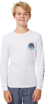 Rip Curl Kids Boys Made For Ls Tee White