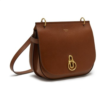 Mulberry Amberley Satchel Oak Natural Grain Leather