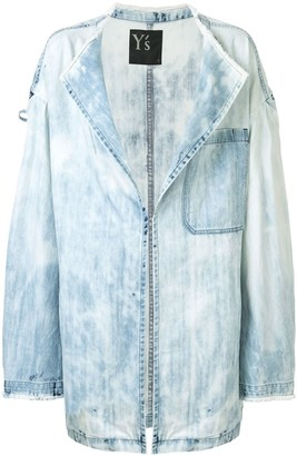 Y's Oversized Denim Jacket