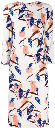 Bellerose floral midi dress