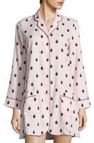 Kate Spade Long Sleeves Pajama Top