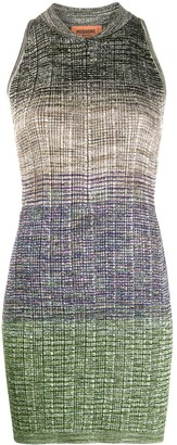 Missoni Gradient Knit Mini Dress
