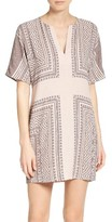 BCBGMAXAZRIA Women's Scarf Print Dress