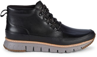 Cole Haan ZeroGrand Rugged Leather Chukka Boots