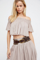 Campomaggi Womens LUXE LEATHER WAIST BELT