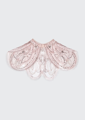 Tutu Du Monde Girl's Embellished Butterfly Effect Cape